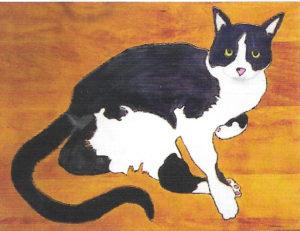 Wood Burned / Painted Pet Portrait